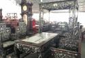 'Ngũ sơn khảm ốc': Bộ bàn ghế sang chảnh có long sàng như vua chúa khiến đại gia phát thèm