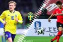 Xem trực tiếp bóng đá World Cup 2018 Thụy Điển vs Hàn Quốc lúc 19h00 ngày 18/6