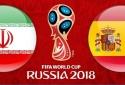 Link xem trực tiếp bóng đá World Cup 2018 Tây Ban Nha vs Iran tốt nhất