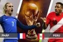 Truyền hình trực tiếp World Cup 2018 trận Pháp và Peru hãy chọn kênh có bản quyền