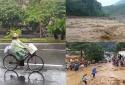 Lũ lụt, sạt lở đất đang hoành hành ở nhiều tỉnh thành, cảnh báo ngập lụt ở Hà Nội