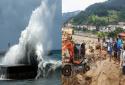 Áp thấp nhiệt đới 'tấn công' Nam Định-Thanh Hóa, gió mạnh cấp 6