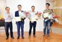 Trao chứng nhận cho 3 dự án ươm tạo khởi nghiệp