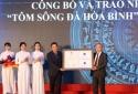 Bộ KH&CN trao chứng nhận nhãn hiệu cho 2 đặc sản tỉnh Hòa Bình