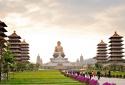 Mê mẩn trước vẻ đẹp kỳ vĩ của Phật Quang Sơn xứ Đài