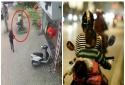 Chở trẻ nhỏ bằng xe máy - Dễ gặp tai nạn từ chính sai lầm của cha mẹ