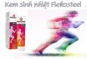 Sản phẩm Flekosteel balm ngang nhiên ghi nhãn không đúng với tên sản phẩm công bố