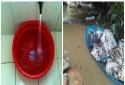 Nghi 'thủ phạm' đổ dầu thải ra khe núi khiến nguồn nước sạch Hà Nội có mùi 'lạ'