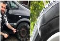 Lốp ô tô bị phình nếu chần chừ xử lý chẳng khác nào đang đùa với 'tử thần'