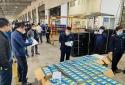 Thu giữ gần 800.000 chiếc khẩu trang xuất lậu qua sân bay quốc tế Nội Bài
