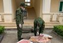 Liên tiếp thu giữ nhiều nầm lợn nhập lậu tại Lạng Sơn