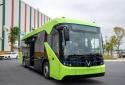 'Tân binh' buýt điện VinFast chính thức lộ diện trên đường chạy thử nghiệm