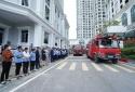 Tập huấn nghiệp vụ PCCC và cứu nạn cứu hộ tại dự án Sunshine Riverside