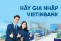 VietinBank tuyển dụng Chi nhánh đợt 4 năm 2020