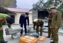 Nhập lậu hàng hóa: Vận chuyển 2 tấn nầm lợn đã mục rữa, bốc mùi hôi thối đi tiêu thụ