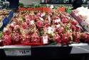 Thanh long Việt Nam phủ sắc đỏ ở nhiều siêu thị tại Úc