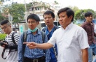 Ông Đoàn Ngọc Hải tháo mái che 'khủng' trước Saigon Centre
