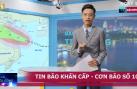 Tin bão số 10: Bão số 10 đã vào đến vùng biển Hà Tĩnh - Quảng Trị