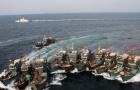Tình hình Biển Đông ngày 22/8: Trung Quốc sử dụng chiến thuật dàn trận bằng tàu cá
