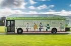 Xe buýt đầu tiên thế giới chạy bằng chất thải người