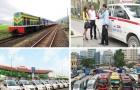 Giá cước taxi, vận tải giảm tới hơn 30%