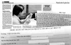 Sao phải trả tiền sổ liên lạc điện tử?: Một dịch vụ không cần thiết