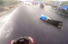 Xe mô tô cán chết người tại Đồng Nai có dung tích tới nghìn phân khối