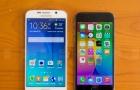 Điện thoại Samsung Galaxy S6 và Iphone 6 đọ 'dáng'
