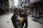 Cập nhật thông tin thiệt hại mới nhất trận động đất Nepal: Hơn 1.500 người chết