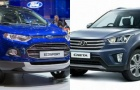 Huyndai Creta và Ford EcoSport: Xe giá rẻ, sức hút lớn