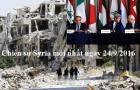Chiến sự Syria mới nhất hôm nay ngày 24/9/2016: Nga thúc giục phe đối lập Syria thỏa hiệp