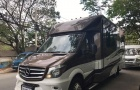 Cận cảnh ngôi nhà di động Mercedes-Benz 'hàng hiếm' về Việt Nam