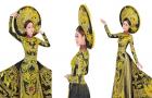 Thùy Dương mang 'Trống đồng Thăng Long' đi thi Hoa hậu Bản sắc toàn cầu