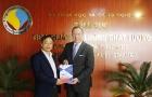 Tổng cục trưởng Trần Văn Vinh tiếp và làm việc với Chủ tịch EuroCham