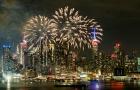 Thế giới ngập tràn màu sắc đón năm mới Mậu Tuất 2018