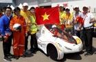 Xe đua điện Việt chạy 129km chỉ với 1kWh giành vô địch Châu Á