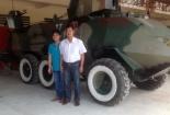 Nông dân Tây Ninh chế tạo, sửa hàng loạt xe bọc thép Campuchia
