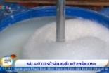 Lật tẩy cơ sở sản xuất sữa tắm dê giả tại Hà Nội