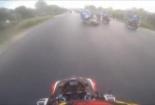 Clip: Cận cảnh tai nạn khiến thành viên đội môtô TPHCM tử vong