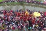 Clip: Độc đáo lễ rước Vua, Chúa 'sống' tại Hà Nội