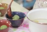 Hướng dẫn cách làm bánh trôi trà xanh nhân vừng đen ngày tết Hàn thực