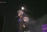 Hàng nghìn người ngắm pháo hoa bên sông Sài Gòn