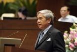 Bộ trưởng KH&CN Nguyễn Quân trả lời chất vấn của Đại biểu Quốc hội
