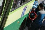 Cận cảnh băng móc túi điêu luyện trên các tuyến xe buýt ở Sài Gòn