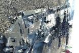 Hiện trường hoang tàn nơi máy bay Nga rơi làm 224 người chết