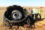 Hé lộ giả thiết mới nhất về tai nạn máy bay Nga tại Ai Cập