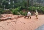 Rùng mình cảnh hàng tấn đất đá tràn vào nhà dân ở Đà Nẵng