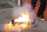 Chân 'bốc hỏa' vì sử dụng ván trượt điện thăng bằng