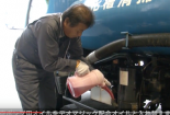 Xe hút bể phốt thơm mùi chocolate độc nhất vô nhị ở Nhật Bản