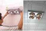 Chuyên gia 'mách nước' cách lắp đặt đèn sưởi nhà tắm đảm bảo an toàn